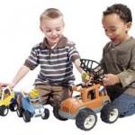 Los niños y sus juguetes…