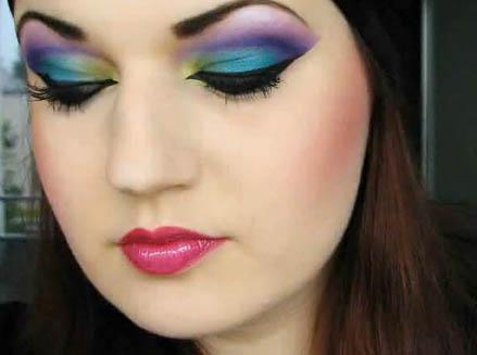 maquillaje de mujer
