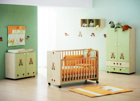 Decorar la habitaci n del beb blog de la mujer urbana - Decorar la habitacion del bebe ...