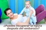Cómo perder la barriga después del embarazo