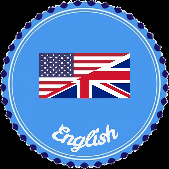 Insignia, Flair, Inglés, Idioma, Bandera, América
