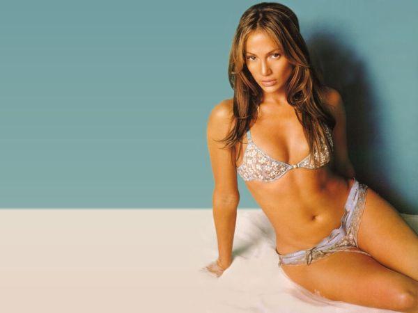 Jennifer López en bikini