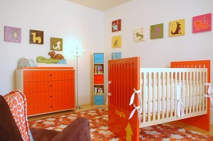 Habitación colorida