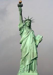 Estatua libertad, Nueva York, Destino